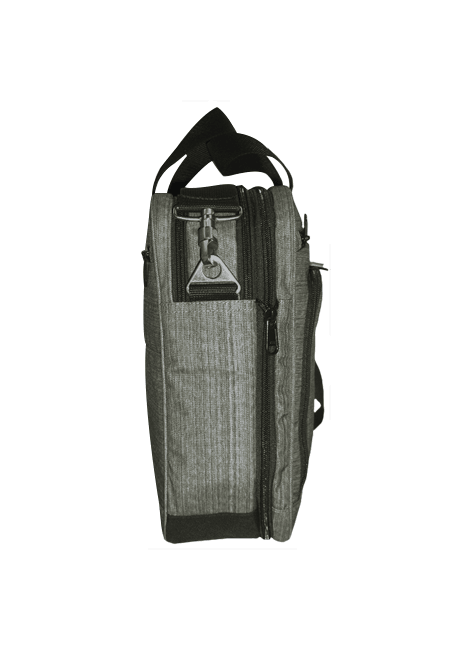 Vetoketjun avulla Afääri-bisneslaukkuun saa tarvittaessa lisää tilaa vaikkapa kansiota varten.