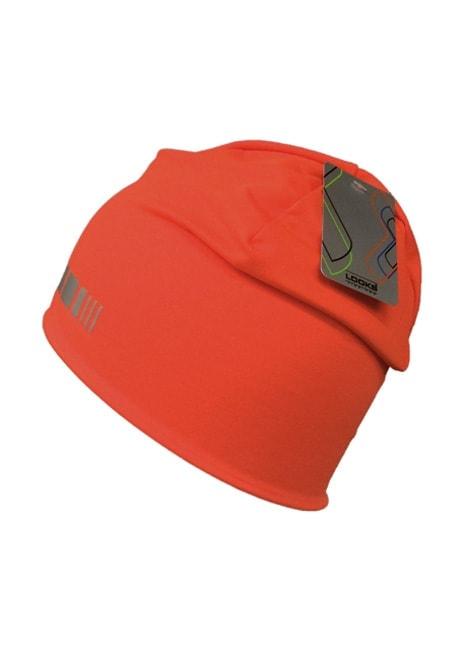 Huomio!-pipon uutuusväri on oranssi. Kuvan väri ei tee sen hohtavuudelle oikeutta, tämä täytyy nähdä omin silmin!