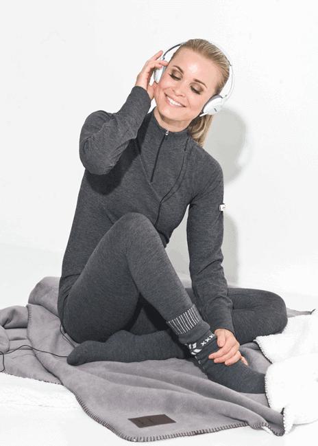Huippulämmin paita-housu -setti on enemmän kuin pelkkä alusasu tai välikerrasto.