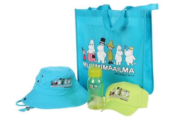 Naantalin Muumimaailma-tuotteet on valmistettu lapsille ja lapsenmielisille