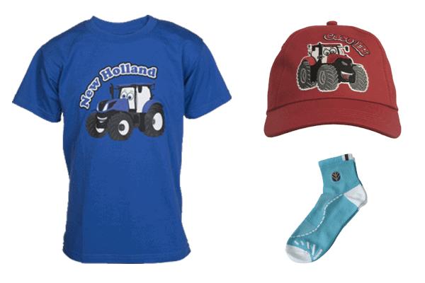 SGN Agritek -fanshopista löytyy suuri valikoima Looks-malliston vaatteita ja kodin tuotteita lapsille ja aikuisille